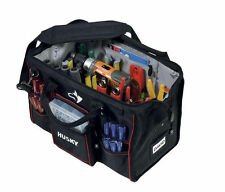 Husky 18 in. Large Mouth Heavy Duty Contractor Tool Storage Bag Organizer Wall
