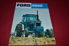 Ford Tractor 6600 Tractor Dealer's Brochure YABE1