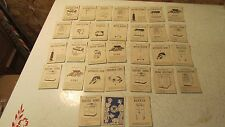 Old Westinghouse Appliance Game Cards Dagwood & Blondie