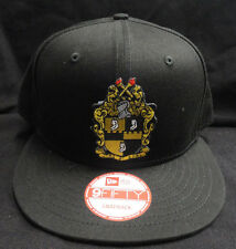 Alpha Phi Alpha Black New Era NE400 Snap Back with Crest Patch