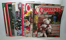 Cross Stitch Christmas Quick Easy McCalls Holiday Magazines Crafts Needlework