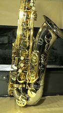 Chateau Professional Handmade Tenor Saxophone - Black Pearl Plate Body Finished