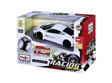 Maisto R/C Racing Series McLaren MP4-12C GT3 Vehicle White 1/24 NEW