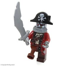LEGO Collectible MiniFigures: Series 14: #02 - Zombie Pirate  (Sealed Pack!)