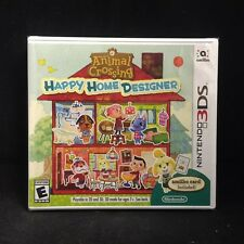 Animal Crossing Happy Home Designer (3DS) BRAND NEW / US Version