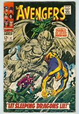 Avengers #41 June 1967 VG Dragon Man