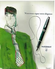 Publicité Advertising 2003 Le Stylo Plume Expert Waterman