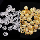 Wholesale 500pcs Metal Flower Bead Caps 6mm Vintage Jewelry Beads Findings DIY
