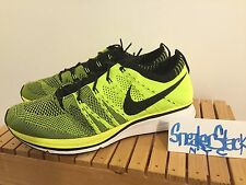 2012 Nike Flyknit Trainer Gold Medal Black/Volt Colorway London Olympics Size 8