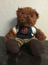 2004 MCDonald's Collectible Teddy Bear I'm Lovin It Size: 7""