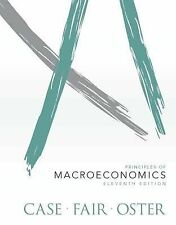 Principles of Macroeconomics by Sharon Oster, Ray C. Fair and Karl E. Case...