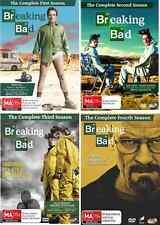 Breaking Bad Series COMPLETE Seasons 1 - 4 : NEW DVD