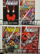 Avengers (Marvel v3 1999) #19-22 Ultron Reborn + Invades a Country Like Movie!
