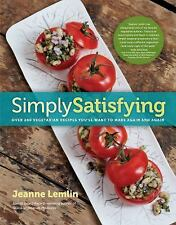 Simply Satisfying: Over 200 Vegetarian Recipes You'll Want to Make Aga-ExLibrary