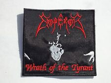 EMPEROR WRATH OF THE TYRANT EMBROIDERED PATCH