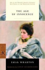 NEW THE AGE OF INNOCENCE BY EDITH WHARTON THE MODERN LIBRARY CLASSICS PAPERBACK