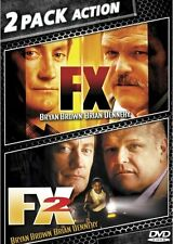 FX + FX 2 New Sealed DVD Double Feature Bryan Brown Brian Dennehy