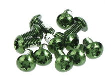 MOWA Bicycle Cycling Bike Disk Brake Rotor Bolts Screws/M5 10mm 12pcs Green
