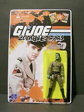 "Custom GI Joe figure and package of ""Zombie Wars"" the KING undead crooner ELVIS"