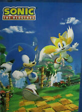 "SONIC THE HEDGEHOG  AND MILES TAILS MICRO FLEECE THROW BLANKET SEGA 45""X60"" NEW"