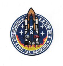 Armageddon Movie Freedom STS-98, X-71 Embroidered Patch, NEW UNUSED