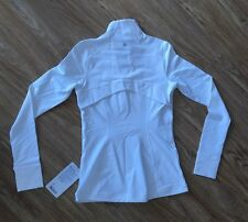 BNWT Lululemon WHITE Define Pullover Long Sleeve Top! Size 6! SUPER GORG & COMFY