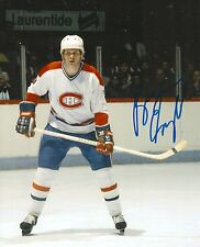BRIAN ENGBLOM signed MONTREAL CANADIENS 8X10 photo w/ COA