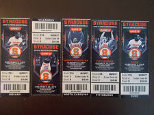 Syracuse Orange 2013-14 NCAA basketball ticket stubs - One ticket