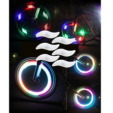 6 Bike Light Bicycle Cycling Spoke Wire Tire Tyre Silicone LED Wheel Multi-color