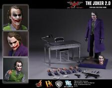 "Hot Toys Batman The Dark Knight - DX11 Joker Sideshow Exclusive 1/6  ""New"""
