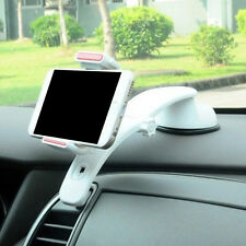 360Degree Universal In Car Dashboard Cell Phone GPS Mount Holder Stand White