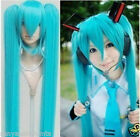New Vocaloid Hatsune Miku Show Anime Costume Cosplay Party Hari wig
