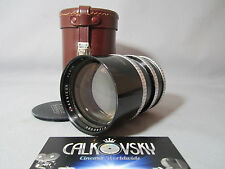 35MM ANGENIEUX 2.5/135MM LENS EXACTA-MOUNT ADAPT TO LEICA & 35MM MOVIE CAMERA