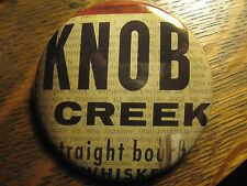 Knob Creek Kentucky USA Bourbon Whiskey Advertisement Pocket Lipstick Mirror