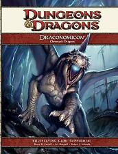 Dungeons and Dragons d20 4th Ed Draconomicon Chromatic Dragons NEW