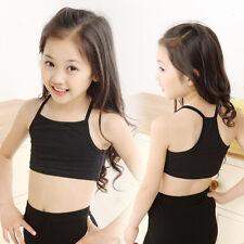 Summer Kids Girls Camisole Baby Children Tube Beach Clothes Crop Tank Tops Vest