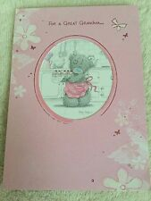 """Me To You Tatty Teddy """"Great Grandma"""" Mother's Day Card From 99p"""