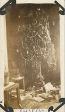 Christmas Tree with Toys and Rifle Real Photo  12/25/1922 *