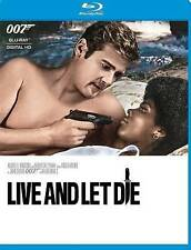 Live and Let Die 007 James Bond Roger Moore (Blu ray) Disc is Brand New