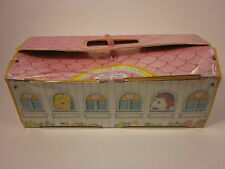 "MY LITTLE PONY G1 Carry Case Snuzzle Unicorn Vintage 6 Stalls Pink 14"" '83"