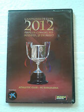 DVD FINAL DE LA COPA DEL REY 2012 · ATHLETIC CLUB - FC BARCELONA
