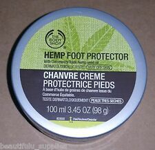 The BODY Shop HEMP FOOT Protector 100 ml FULL Size 3.45 oz NEW AMAZING results