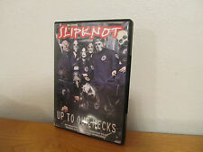 SLIPKNOT: UP TO OUR NECKS DVD - I combine shipping