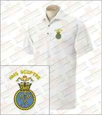 HMS Sceptre Embroidered Polo Shirts