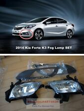 2013 ~ 2015 KIA Forte K3 Sedan fog lamp light & cover & wire 1set Genuine Parts