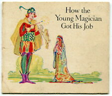 "Vintage Package Insert Brochure: ""HOW THE YOUNG MAGICIAN GOT HIS JOB"""