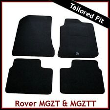 Rover MG ZT / MG ZT-T 2001-2005 Tailored Fitted Carpet Car Floor Mats BLACK
