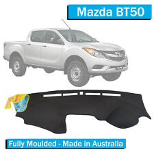 Mazda BT50 (2012-Current) - Dash Mat - Black - Fully Moulded - BT-50 All Models