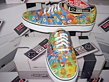 Vans Authentic Womens X Nintendo Super Mario Bros Canvas Skate shoes Size 8 NWT