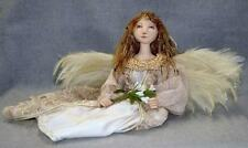 "*NEW* CLOTH ART DOLL (E-PATTERN) ""SEATED ANGEL"" BY JUDY SKEEL"